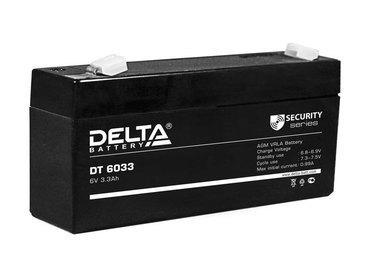 Аккумулятор Delta DT 6033 (125мм)