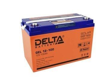 Аккумулятор Delta GEL 12-100