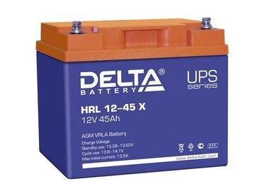 Аккумулятор Delta HRL 12-45 Х