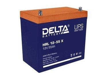 Аккумулятор Delta HRL 12-55 Х