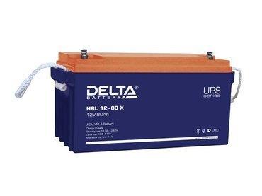 Аккумулятор Delta HRL 12-80 Х