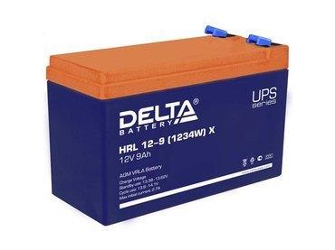 Аккумулятор Delta HRL 12-9 Х