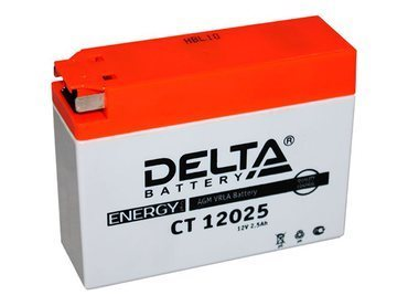 Аккумулятор Delta MOTO CT 12025