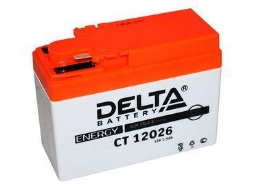 Аккумулятор Delta MOTO CT 12026