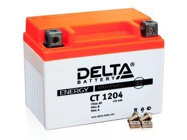Аккумулятор Delta MOTO CT 1204