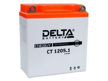 Аккумулятор Delta MOTO CT 1205.1
