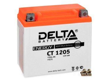 Аккумулятор Delta MOTO CT 1205