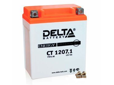 Аккумулятор Delta MOTO CT 1207.1