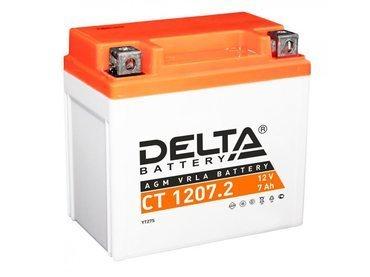 Аккумулятор Delta MOTO CT 1207.2