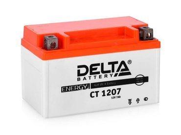 Аккумулятор Delta MOTO CT 1207