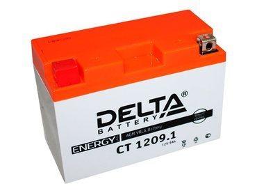 Аккумулятор Delta MOTO CT 1209.1