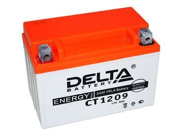 Аккумулятор Delta MOTO CT 1209