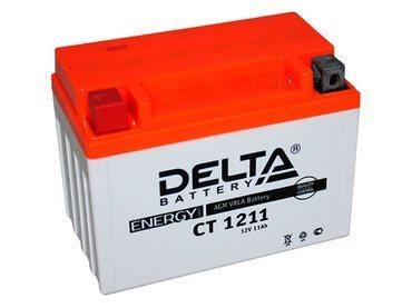 Аккумулятор Delta MOTO CT 1211
