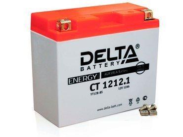 Аккумулятор Delta MOTO CT 1212.1