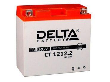 Аккумулятор Delta MOTO CT 1212.2