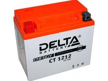 Аккумулятор Delta MOTO CT 1212