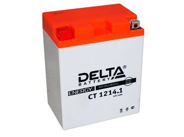 Аккумулятор Delta MOTO CT 1214.1