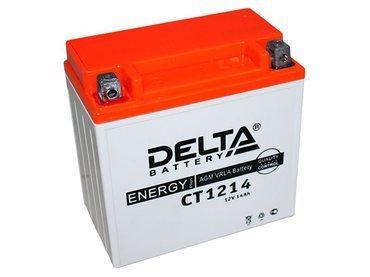 Аккумулятор Delta MOTO CT 1214