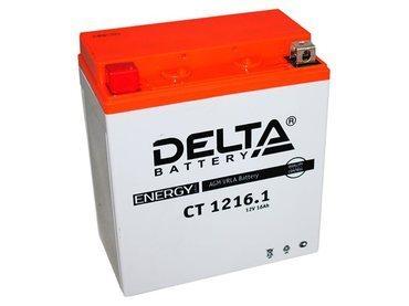 Аккумулятор Delta MOTO CT 1216.1