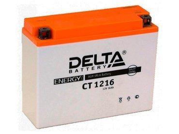 Аккумулятор Delta MOTO CT 1216
