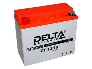 Аккумулятор Delta MOTO CT 1218