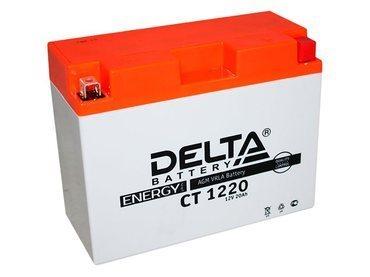 Аккумулятор Delta MOTO CT 1220
