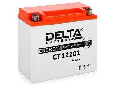 Аккумулятор Delta MOTO CT 12201