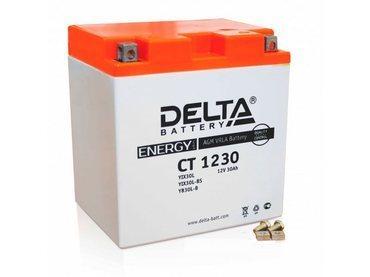 Аккумулятор Delta MOTO CT 1230
