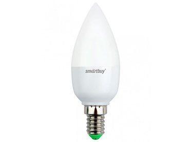 Светодиодная лампа Smartbuy 7 Вт C37 E14