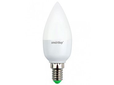 Светодиодная лампа Smartbuy 5 Вт C37 E14