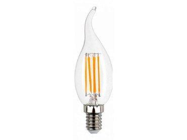 Светодиодная лампа Filament свеча на ветру Smartbuy 7 Вт C37 E14