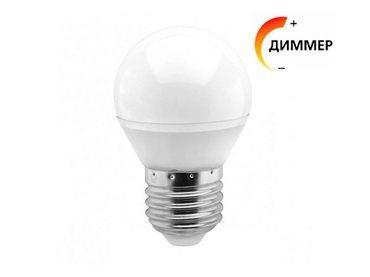 Светодиодная лампа (Диммер) Smartbuy 7 Вт G45 E27