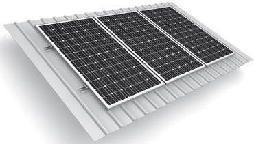 Комплект для монтажа безрамных солнечных панелей