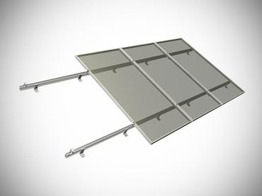 Комплект для монтажа солнечных панелей 100 Ватт