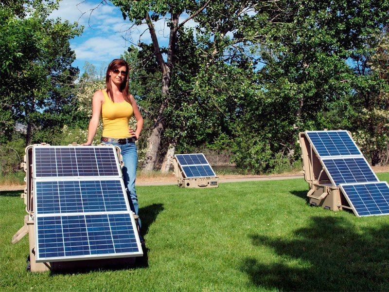 Основные преимущества использования переносных солнечных электростанций